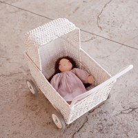 Doll in strolley